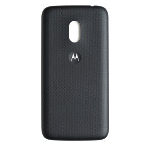 Back Cover for Moto G4 Play (Authorized OEM) - Black