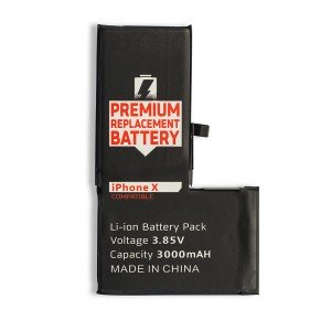 Battery with Adhesive for iPhone X (SELECT)