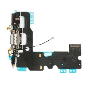 "Charging Port Flex Cable for iPhone 7 (4.7"") - Light Grey"