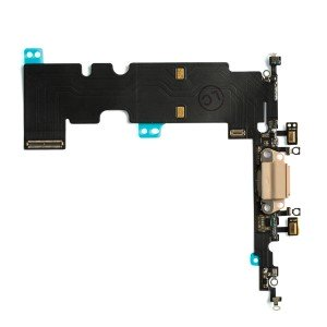 """Charging Port Flex Cable for iPhone 8 Plus (5.5"""") - Gold"""