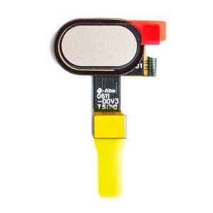 Fingerprint Scanner (w/ Adhesive) for Motorola Moto E4 / Moto E4 Plus (XT1768 / XT1774) (Authorized OEM) - Gold