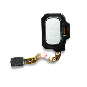 Home Button Flex Cable for Samsung Galaxy S8+ (w/ Fingerprint Scanner) - Arctic Silver