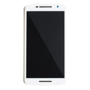 LCD Frame Assembly for Droid Maxx 2 (XT1565) (Authorized OEM) - White