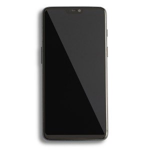 LCD & Digitizer Frame Assembly for OnePlus 6 - Matte Black