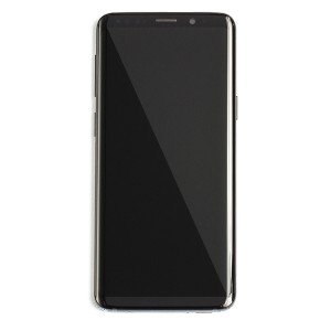 OLED Frame Assembly for Galaxy S9 (OEM - Service Pack) - Midnight Black