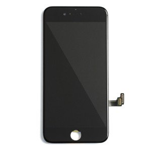 "LCD & Digitizer Frame Assembly for iPhone 8 (4.7"") (PrimeParts - Premium) - Black"