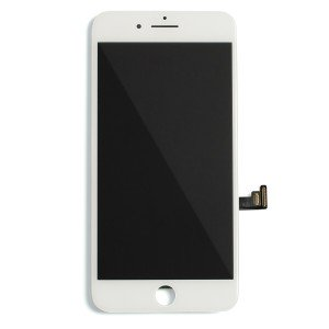 "LCD & Digitizer Frame Assembly for iPhone 8 Plus (5.5"") (Prime) - White"