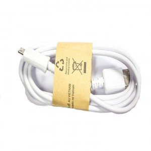 Micro USB Data Cable (Generic) - White