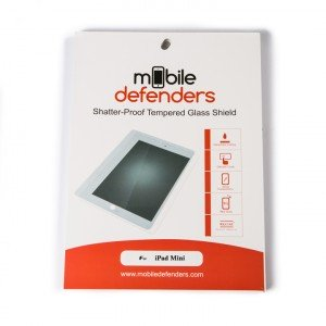 Tempered Glass Shield (0.33mm) for iPad Mini / iPad Mini 2 / iPad Mini 3 (MD Packaging)