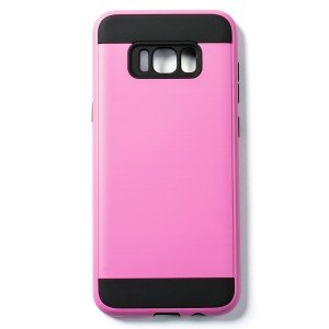 Tough Fashion Style Case for Samsung Galaxy S8+ - Pink