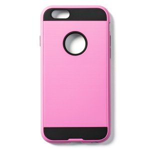 """Tough Fashion Style Case for iPhone 6 (4.7"""") / iPhone 6S (4.7"""") - Pink"""