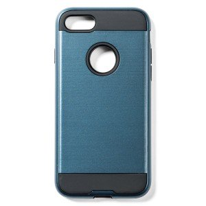 """Tough Fashion Style Case for iPhone 7 (4.7"""") - Blue"""