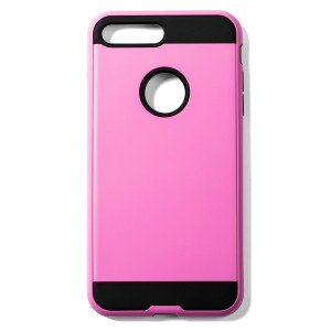 """Tough Fashion Style Case for iPhone 7 Plus (5.5"""") - Pink"""