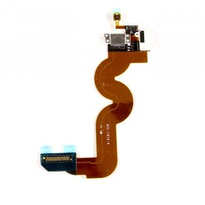 Charging Port Flex Cable (Charging Port & Audio Jack & Home Button Flex & Mic) for iPod Touch 5th Gen - White