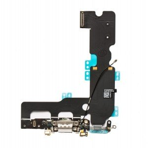 Charging Port Flex Cable for iPhone 7 Plus - Light Gray
