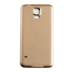 Back Battery Cover for Samsung Galaxy S5 - Gold