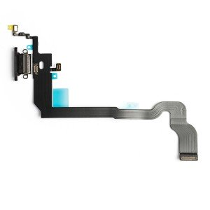 Charging Port Flex Cable for iPhone X - Space Gray