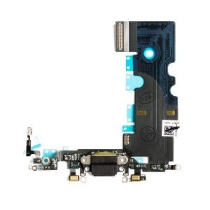 "Charging Port Headphone Jack Flex Cable for iPhone 8 (4.7"") - Space Gray"