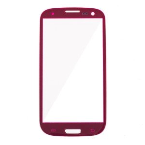 Glass Lens for Samsung Galaxy S3 (Generic) - Red