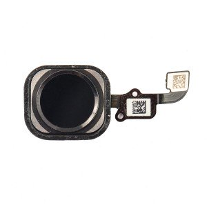 "Home Button Flex Cable (w/ Fingerprint Scanner) for iPhone 6 Plus (5.5"") - Black (Fingerprint scanner is aftermarket - biometrics may not work)"