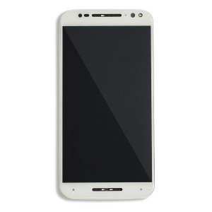 LCD & Digitizer Frame Assembly for Motorola Moto X Style / X Pure (XT1570 / XT1575) (Authorized OEM) - White