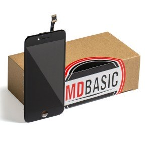 "LCD & Digitizer Frame Assembly for iPhone 6 (4.7"") (MDBasic) - Black (Bulk Pricing Available)"