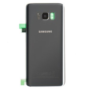 Back Glass for Samsung Galaxy S8+ (w/ Adhesive) (Prime - OEM) - Arctic Silver