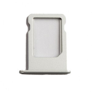 Sim Card Tray for iPhone 5S / iPhone SE - Silver