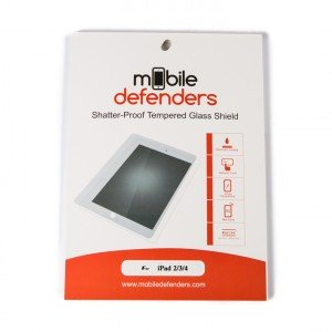 Tempered Glass Shield (0.33mm) for iPad 2 / iPad 3 / iPad 4 (MD Packaging)