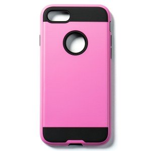"""Tough Fashion Style Case for iPhone 7 (4.7"""") - Pink"""