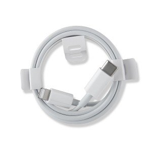 MFi Lightning to Type C Charging Cable - White