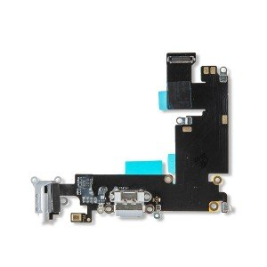 Charging Port Flex Cable for iPhone 6 Plus - Light Gray