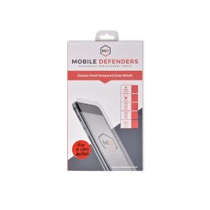 "MD Tempered Glass for iPhone 12 Pro Max (6.7"") - Full Coverage"