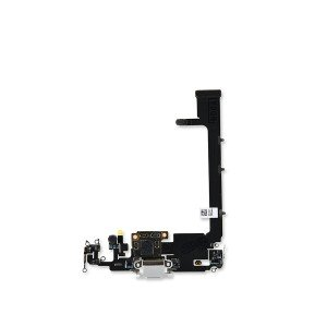 Charging Port Flex with Sub-Board for iPhone 11 Pro Max (PRIME) - Silver