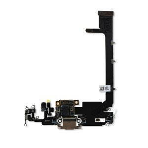 Charging Port Flex with Sub-Board for iPhone 11 Pro Max (PRIME) - Gold