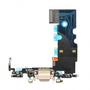 Charging Port Flex Cable for iPhone 8 / SE2 - Gold