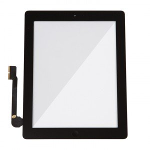 Digitizer & Home Button Assembly (w/ Adhesive) for iPad 3 / iPad 4 (Select) - Black