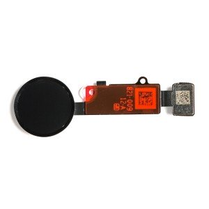 Home Button Flex Cable for iPhone 8 Plus - Black (Cosmetic Replacement)