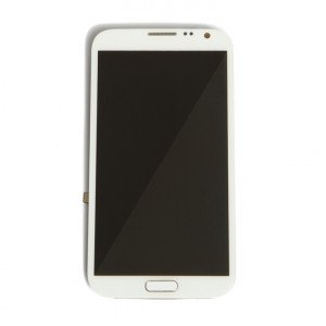 LCD & Digitizer Frame Assembly for Samsung Galaxy Note 2 (N7105 / I317 / T889) (MDSelect - Generic) - White